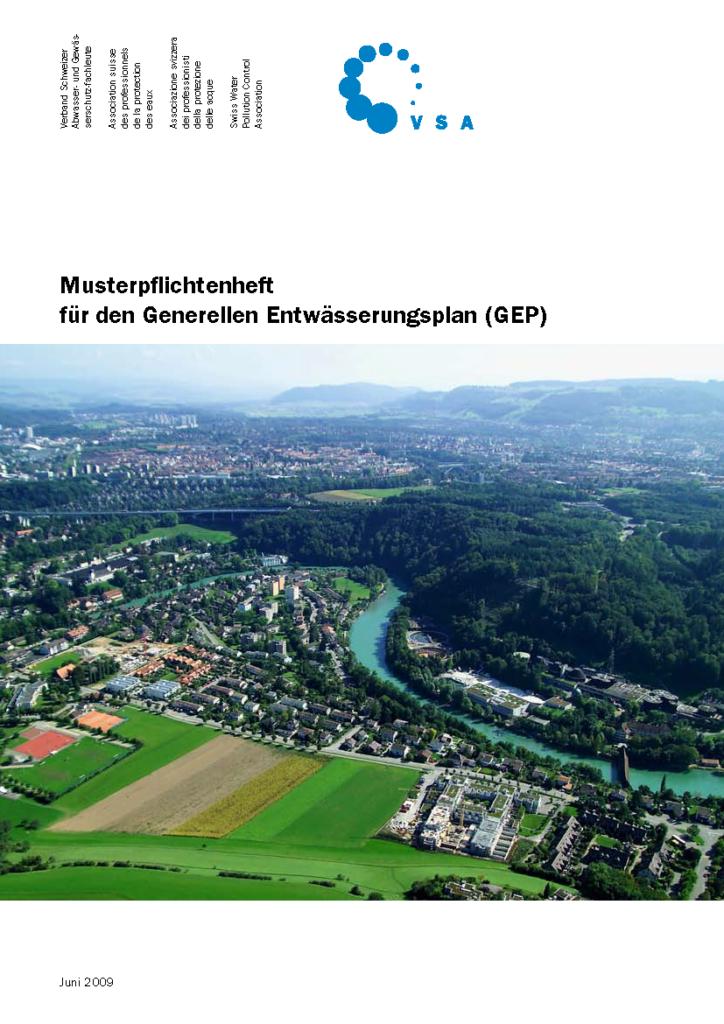 Titelblatt des GEP-Musterpflichtenhefts
