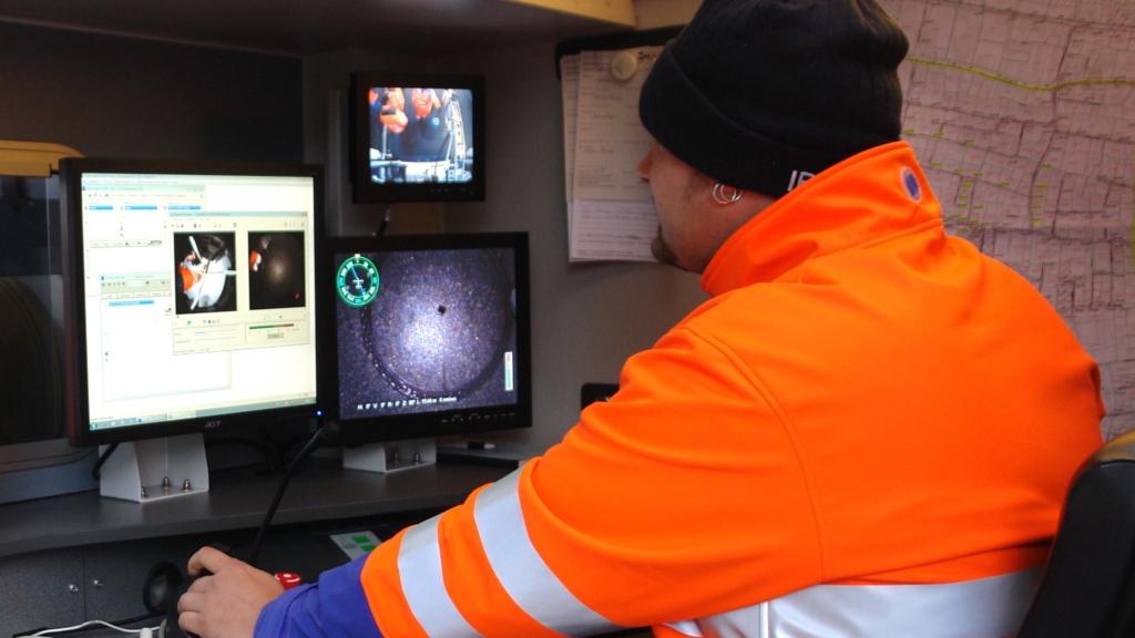 Überwachung Kanalfernsehen am Computer